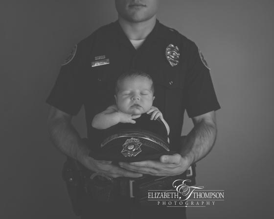 Newborn Police Officer Image